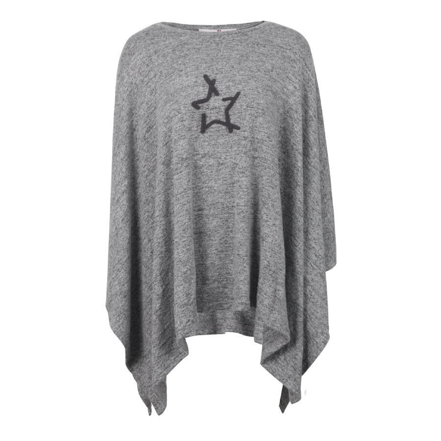 bellybutton Camisa de manga larga de maternidad, gris moteado