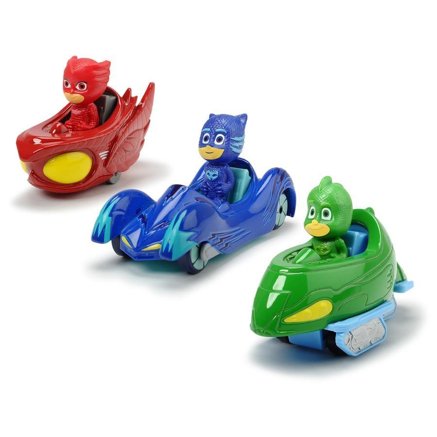 DICKIE Toys Leluhahmot PJ Masks, 3 kpl