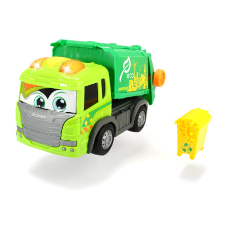 DICKIE Toys Jouet camion poubelle Happy SCANIA
