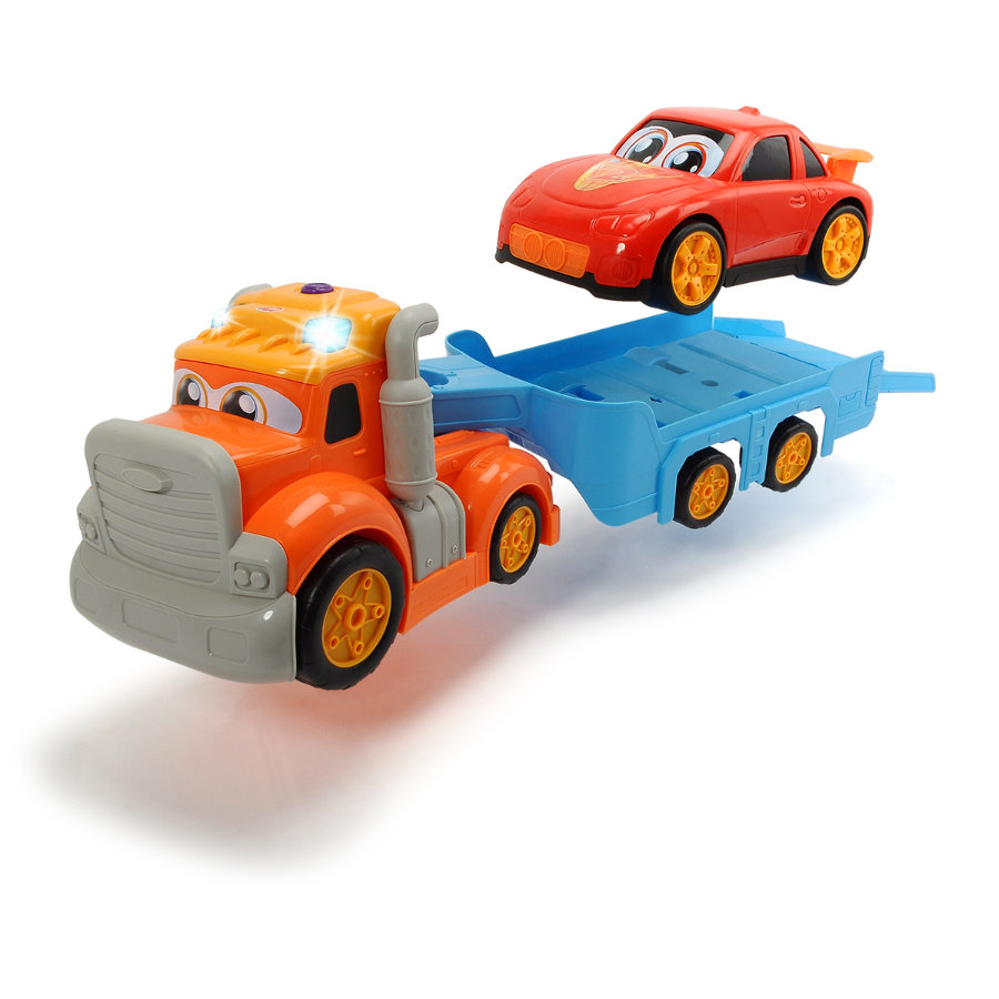 DICKIE Toys Camion remorqueur happy truck, voiture
