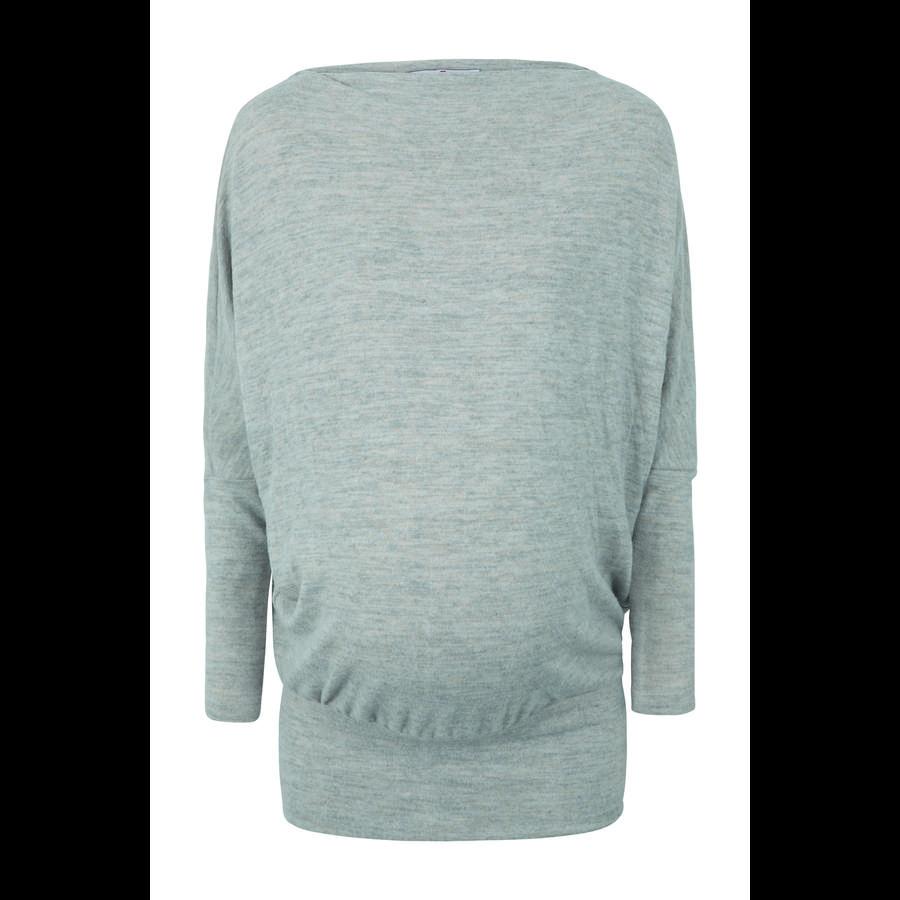 bellybutton Chemise de maternité à manches longues, gris clair moucheté