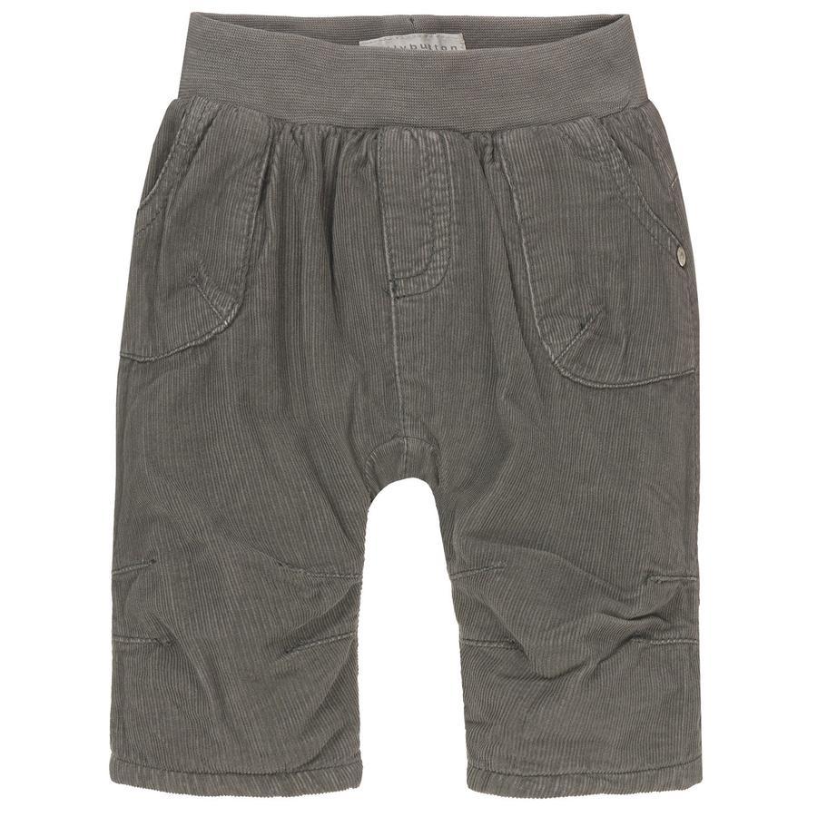 bellybutton Boys Pantalon en velours côtelé, gris