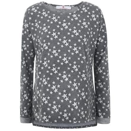 bellybutton Umstandssweatshirt, grau mit Sternchen