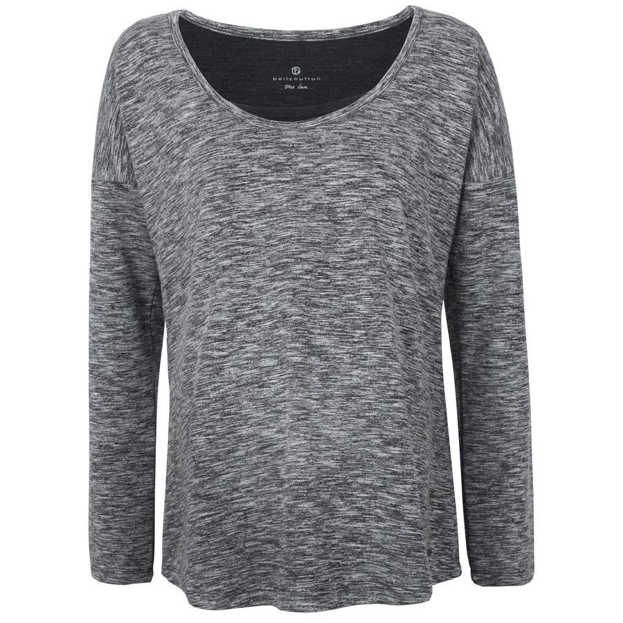 bellybutton Långärmad amningskjorta, gråmelerad