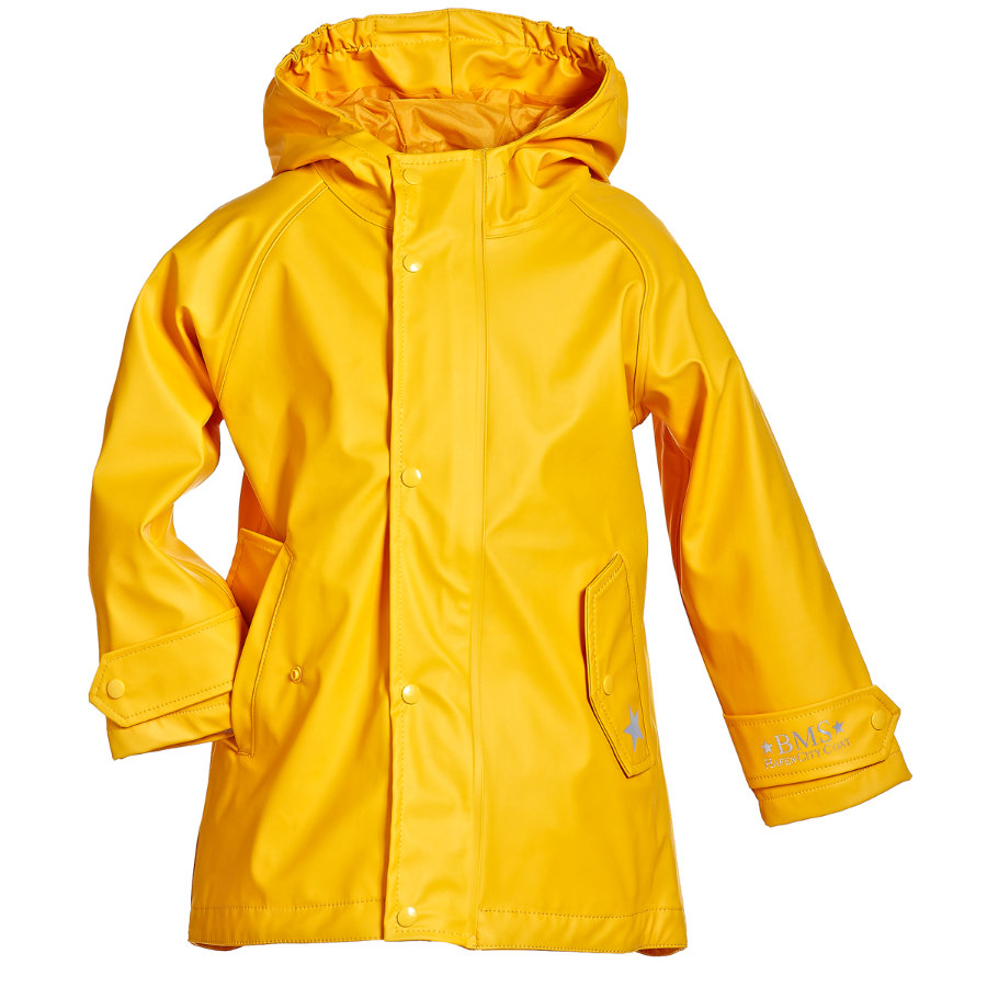 BMS HafenCity® Skin® Skin® Regenjas stippen geel