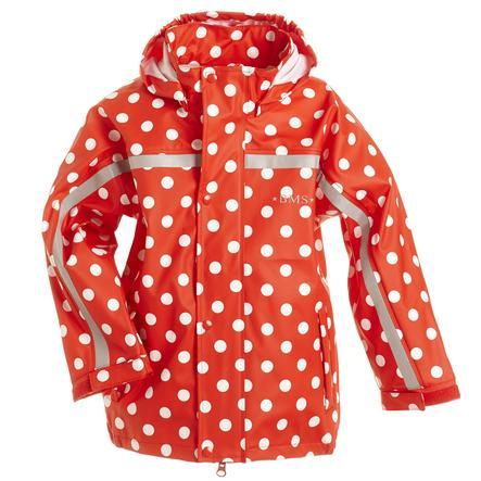 BMS Rainjacket Buddel dots rosso