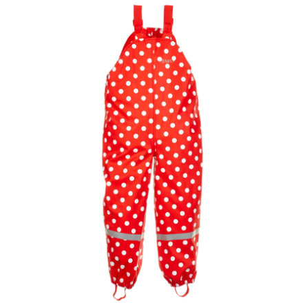 BMS Buddell Soft dungarees skin points red
