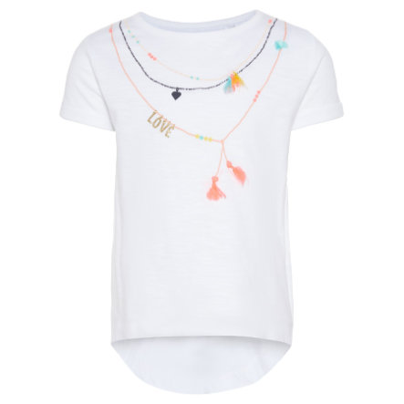 name it Girl s T-Shirt Garlone helder wit