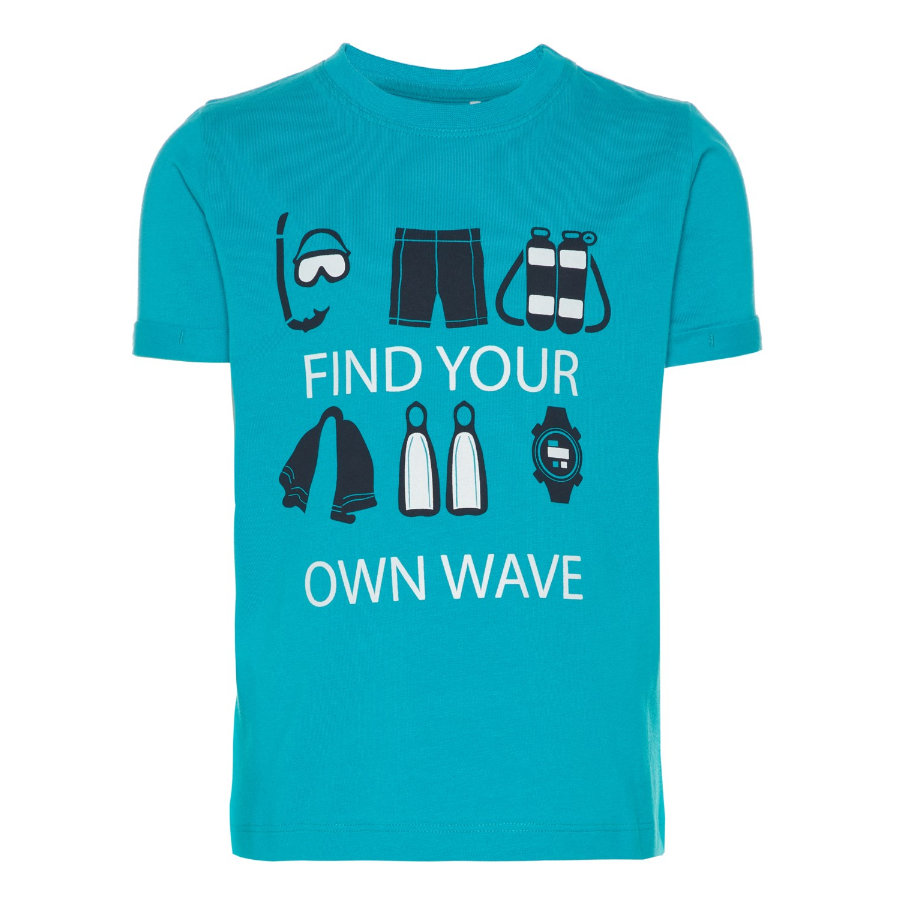 name it Chlapecké tričko Vux lake blue