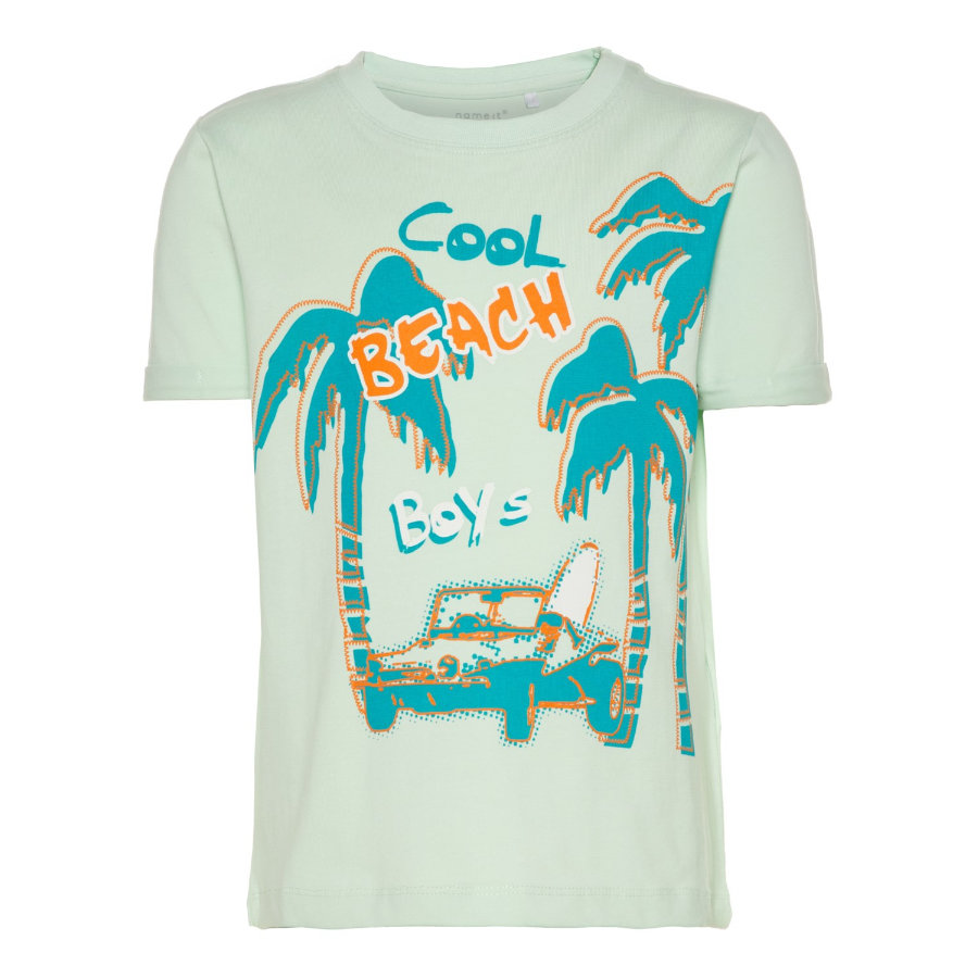name it Boys T-Shirt Vux dusty aqua