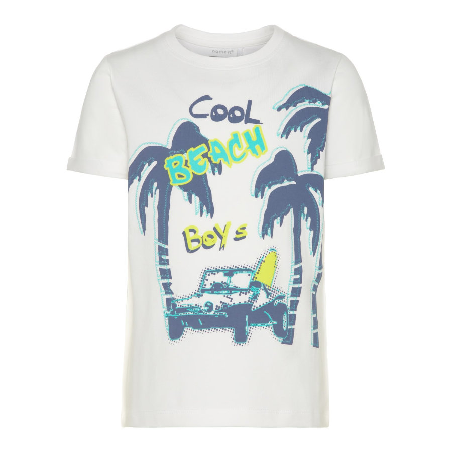name it Boys T-Shirt Vux bright white