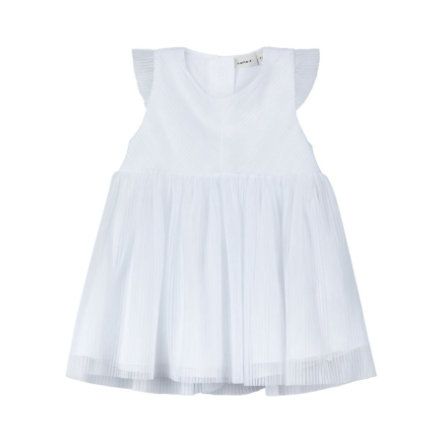 Name It Girls Kleid Taufe Garit Bright White