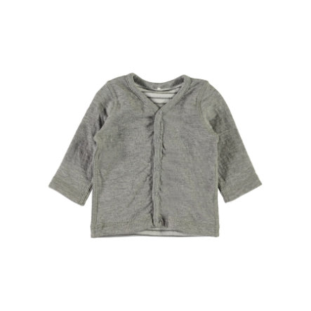 name it Girls Wende-Sweatjacke Uxoga grey melange