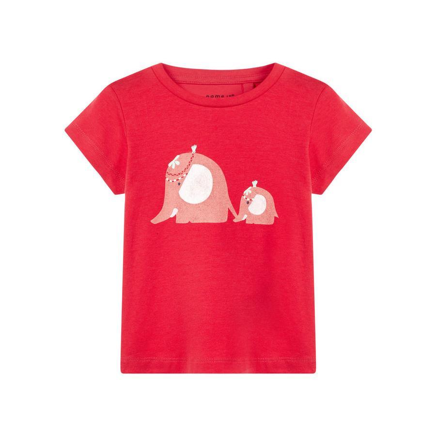 name it Girls T-Shirt hibiscus