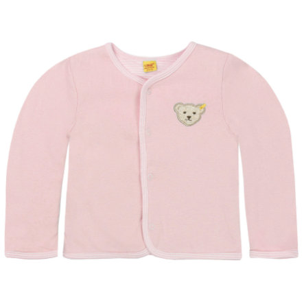 Steiff Girls Sweatjacke, rosa