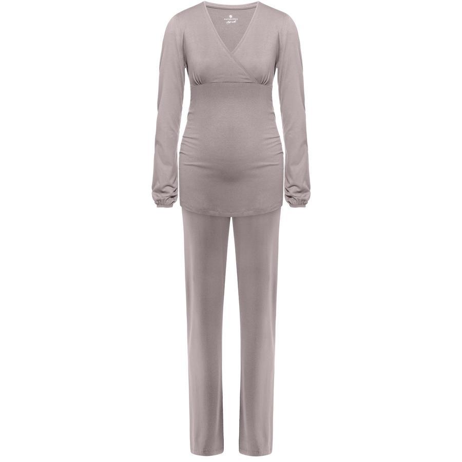 bellybutton Umstandsschlafanzug DORLA, warm taupe
