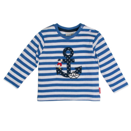 SALT AND PEPPER Camisa manga larga Pirate rayas azul mélange
