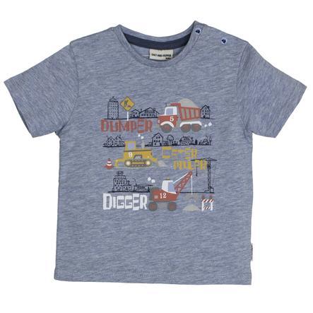 SALT AND PEPPER T-Shirt Just Cool Digger azul nube