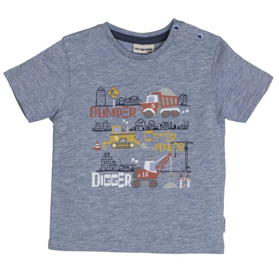 SALT AND PEPPER T-Shirt Just Cool Digger cloud blue