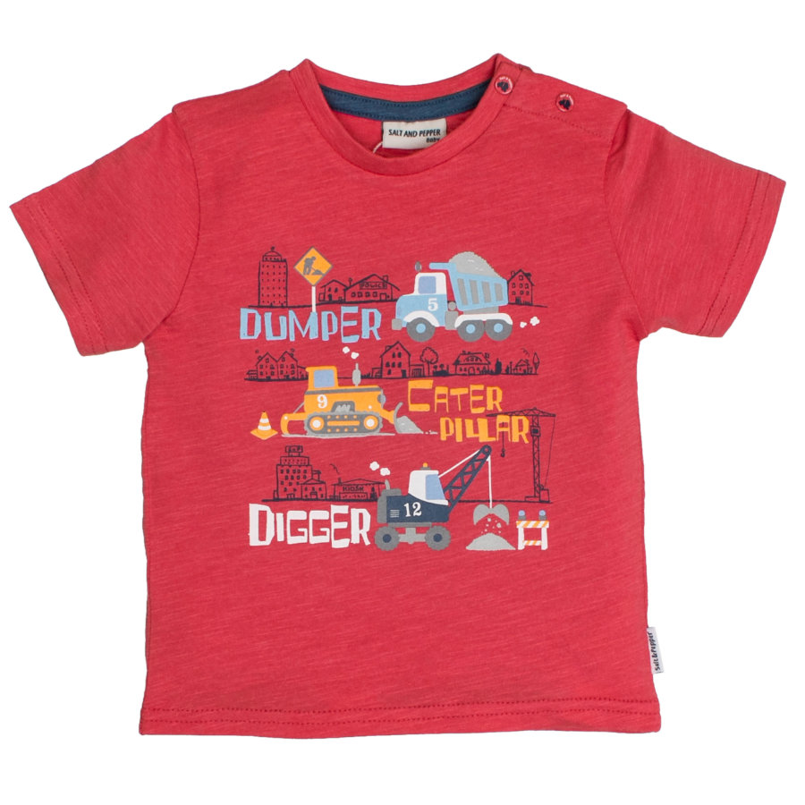 SALT AND PEPPER T-Shirt Gewoon cool Digger cayenne melange