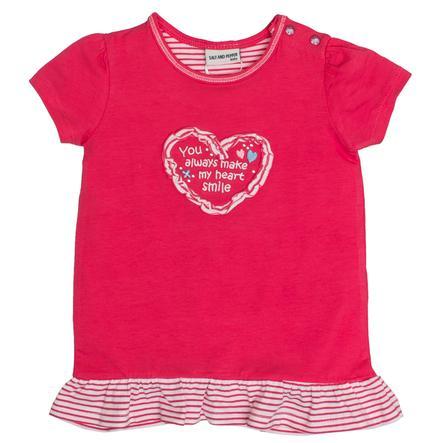 SALT AND PEPPER Baby T-Shirt Love frills summer pink