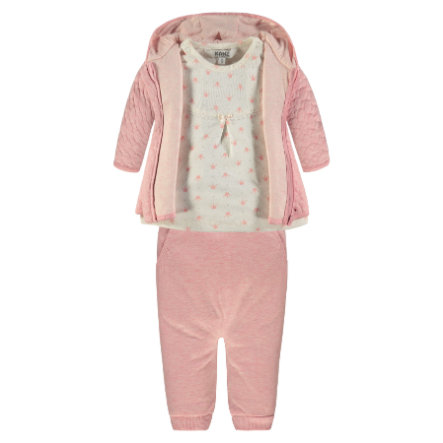 KANZ Girls Set 3-tlg Prinzessin, rosa