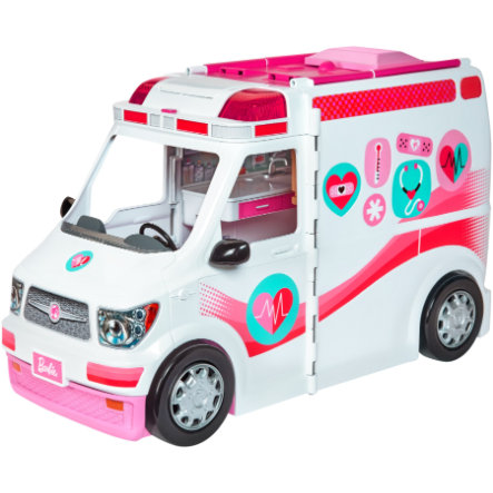 Barbie 2 in 1 Krankenwagen Spielset