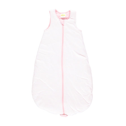 DIMO-TEX makuupussi raidat vaaleanpunaisia