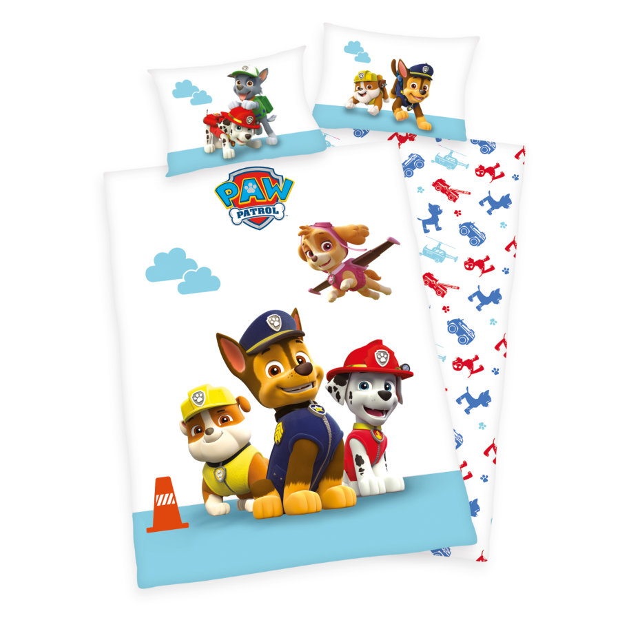 herding bettw sche paw patrol 100 x 135 cm. Black Bedroom Furniture Sets. Home Design Ideas
