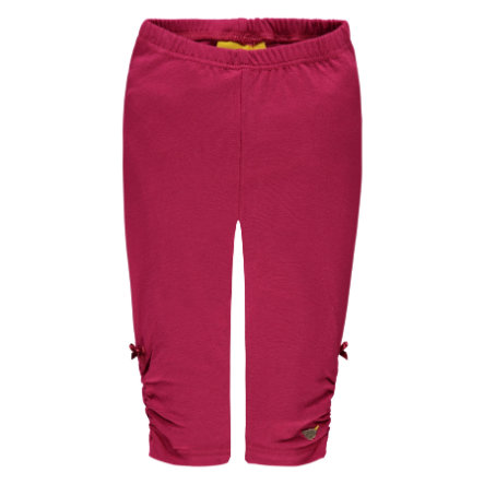 Steiff Girl s Leggings, bordeaux red.
