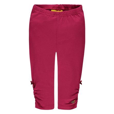 Steiff Girl S Leggings, rosso bordeaux