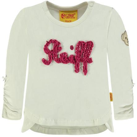 Steiff Girl s Overhemd met lange mouwen, wit
