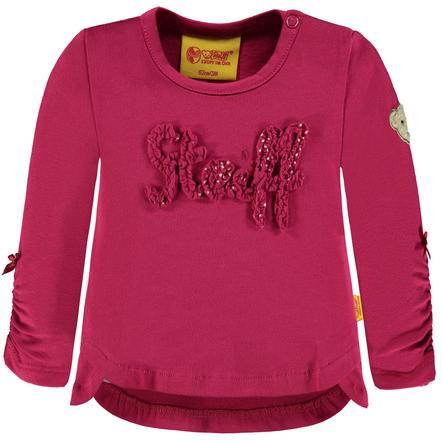 Steiff Girls Langarmshirt, rot