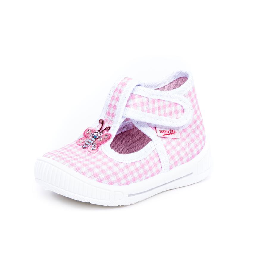 neuer Stil speziell für Schuh offiziell superfit Girls Hausschuh Bully Schmetterling rose kombi