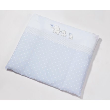 easy baby Mata do przewijania tkanin 75 x 85 cm słoń blue