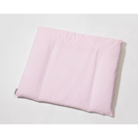 easy baby Wrap-around pad 75 x 85 cm Star s rose