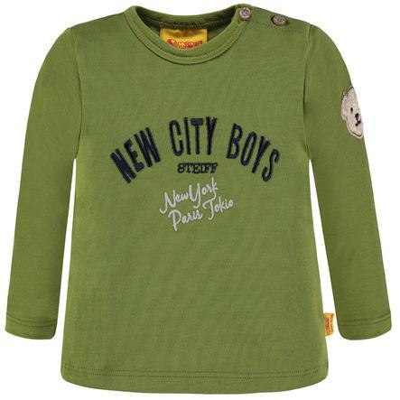 Steiff Boys Overhemd met lange mouwen, groen
