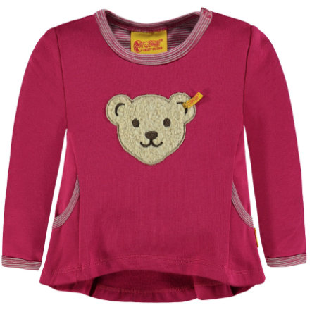 Steiff Girls Sweatshirt, bordeauxrot