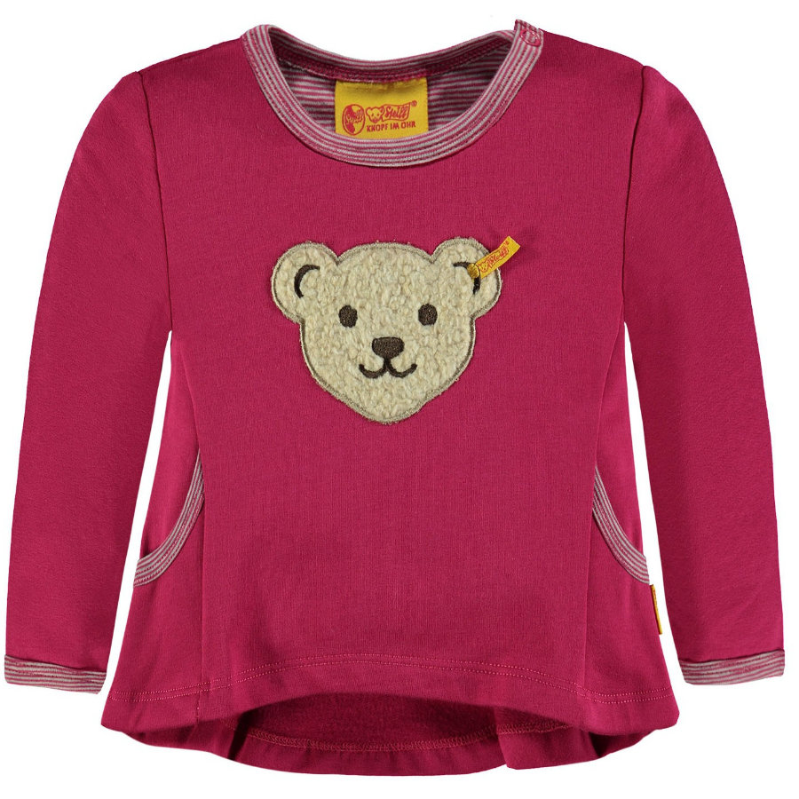 Steiff Girl s Sweatshirt, bordeauxrood
