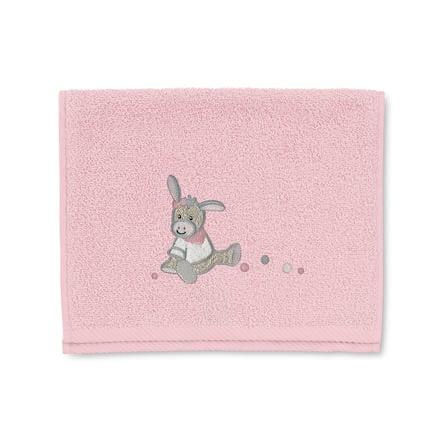 Sterntaler Ręcznik dziecięcy Emmi Girl 50 x 30 cm różowy