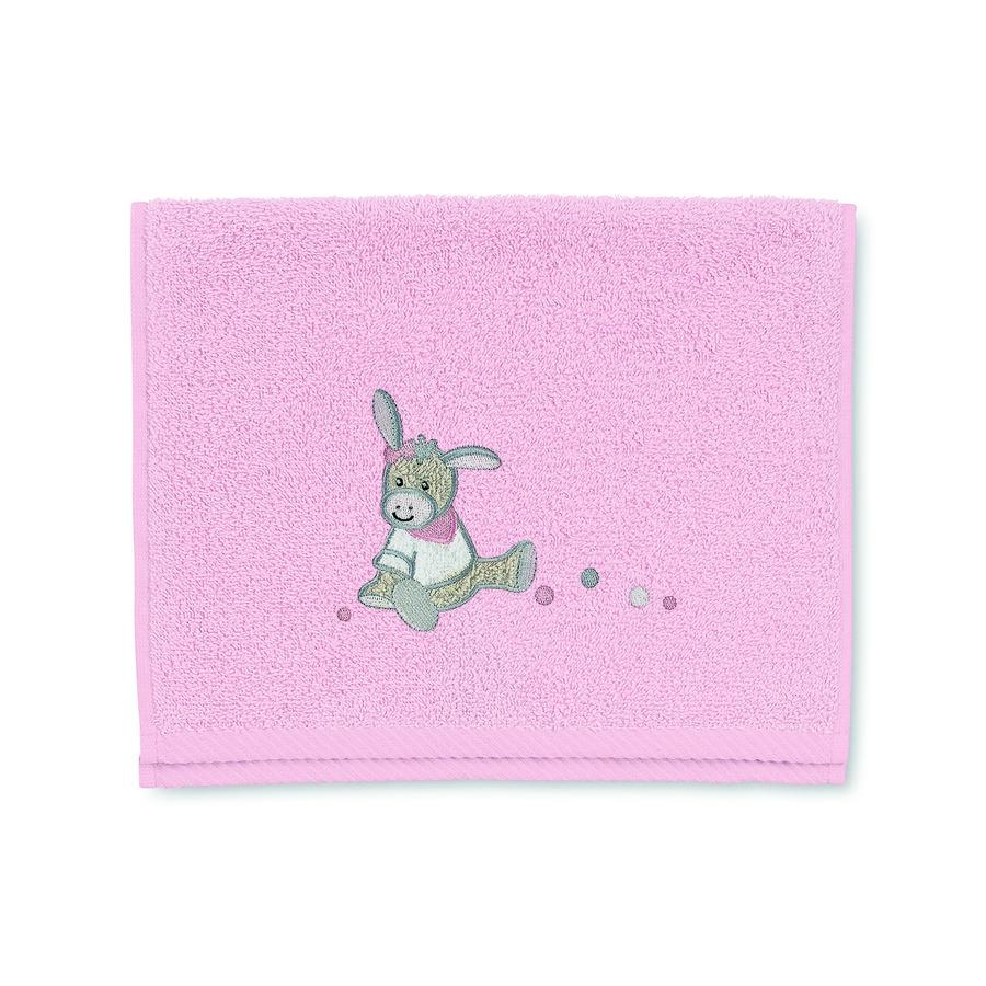 Sterntaler Kinderhandtuch Emmi Girl 50 x 30 cm rosa