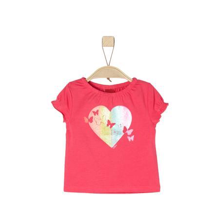 s.Oliver T-skjorte for jenter rosa