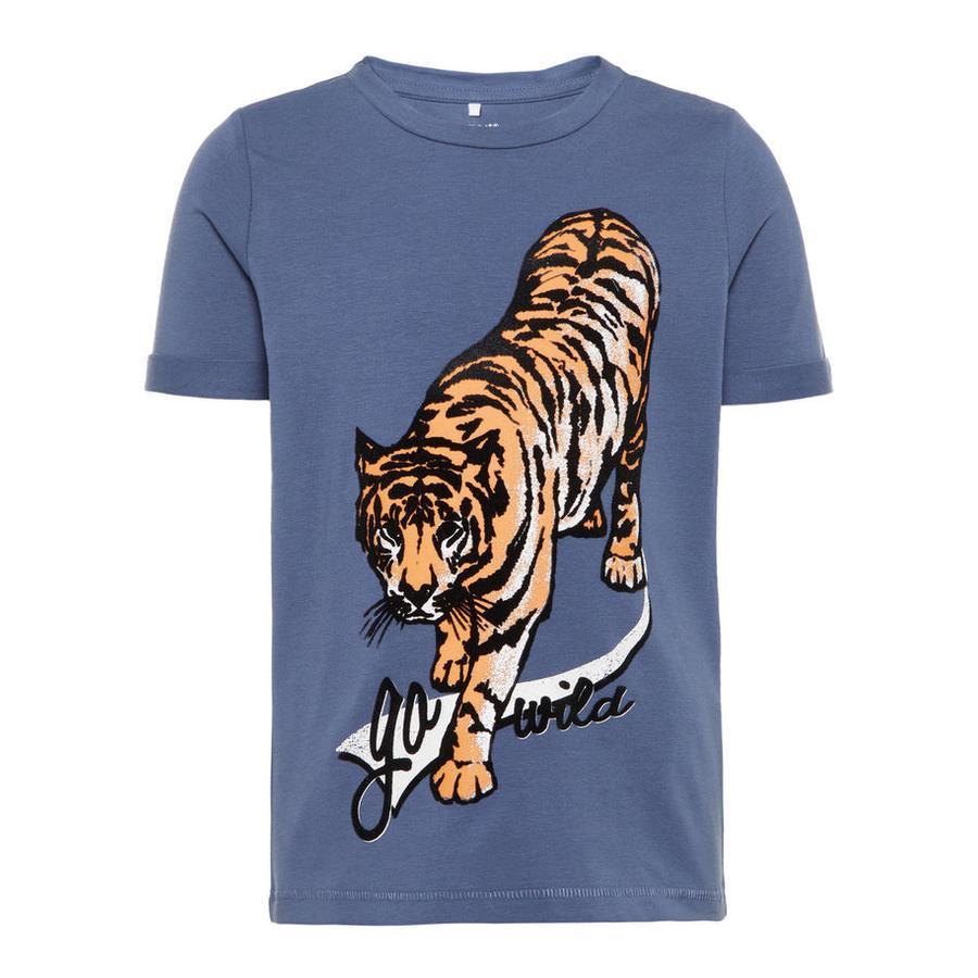 name it Boys T-Shirt Gaxos vintage indigo