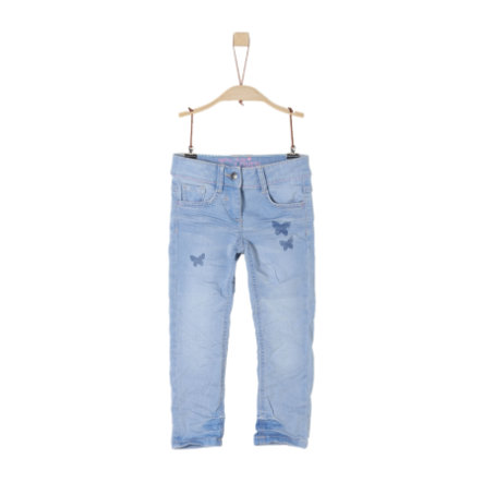 s.Oliver Girl s pantalons bleu denim stretch bleu