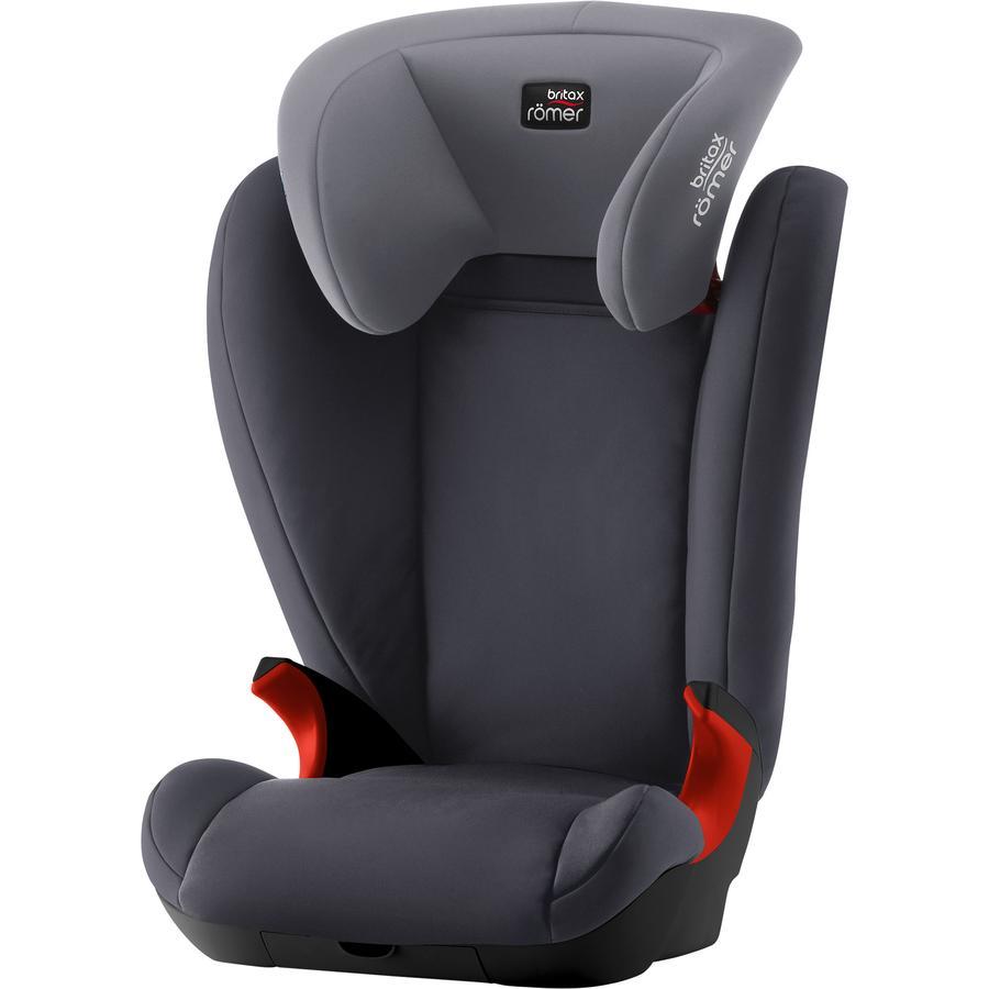 Britax Römer silla de coche Kid II Black Series Storm gris