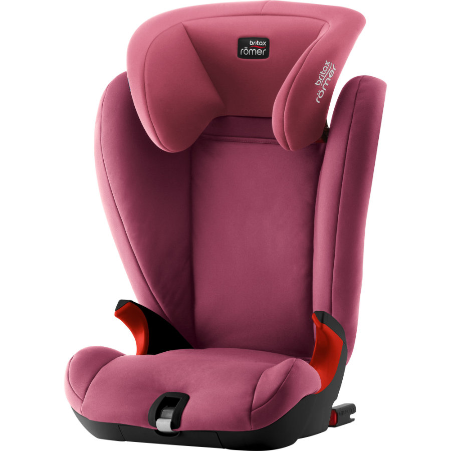 Britax Römer Kindersitz Kidfix SL Black Series Wine Rose