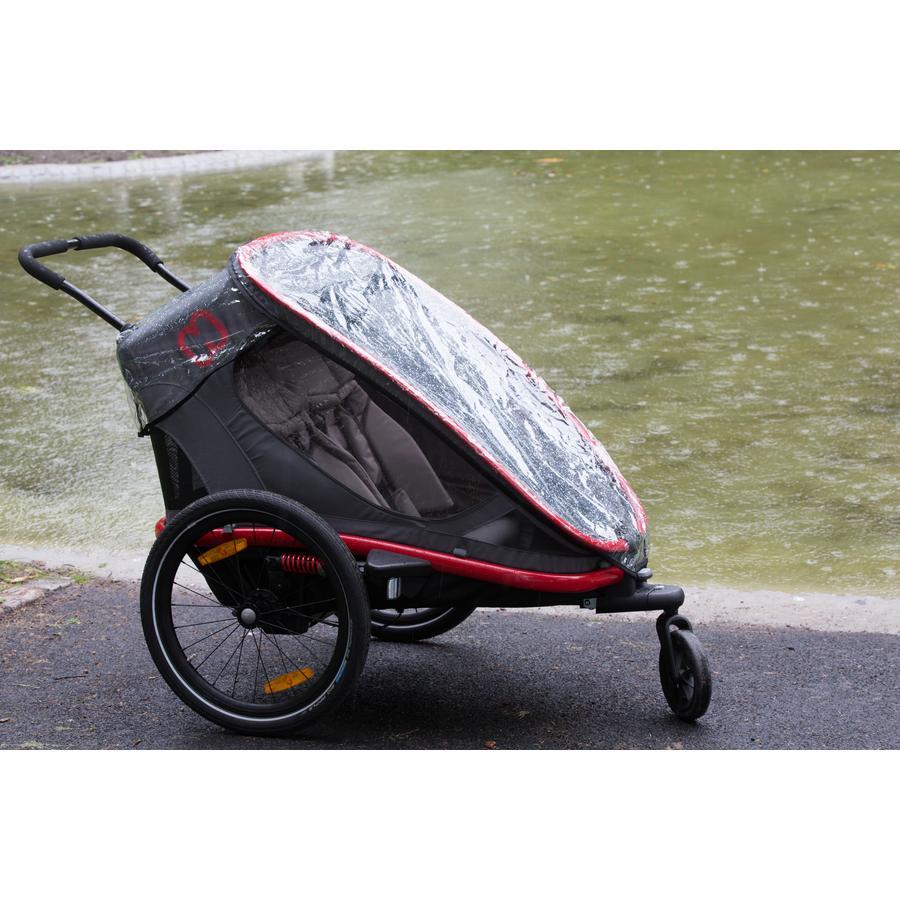 hamax Protection pluie pour remorque vélo enfant Outback, Avenida One
