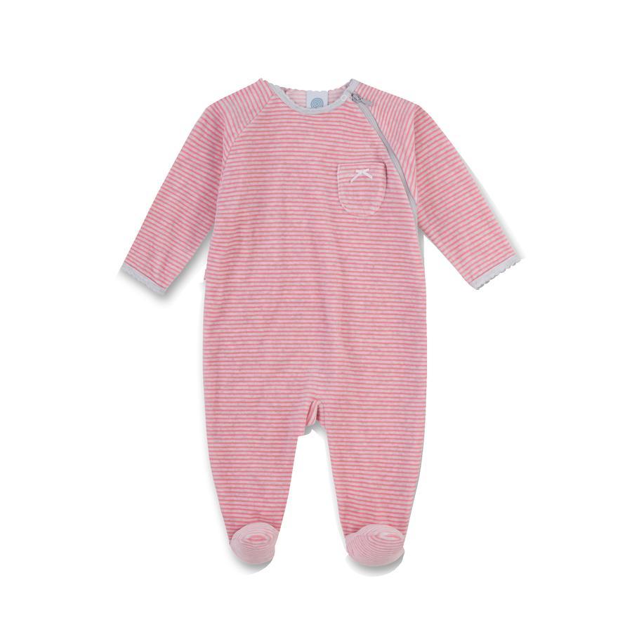 Sanetta Girl s Nicky - Pajamas Ringel Pinkel pink
