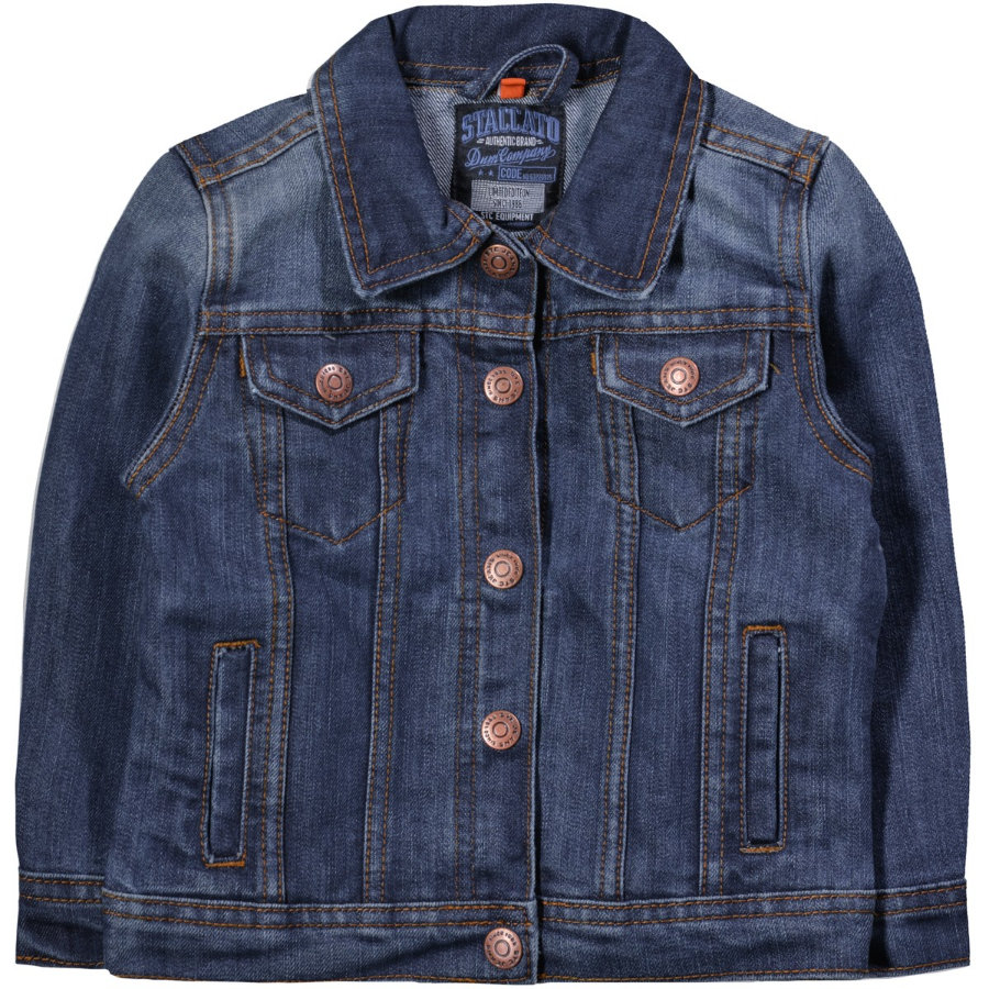 STACCATO Boys Veste en jean bleu