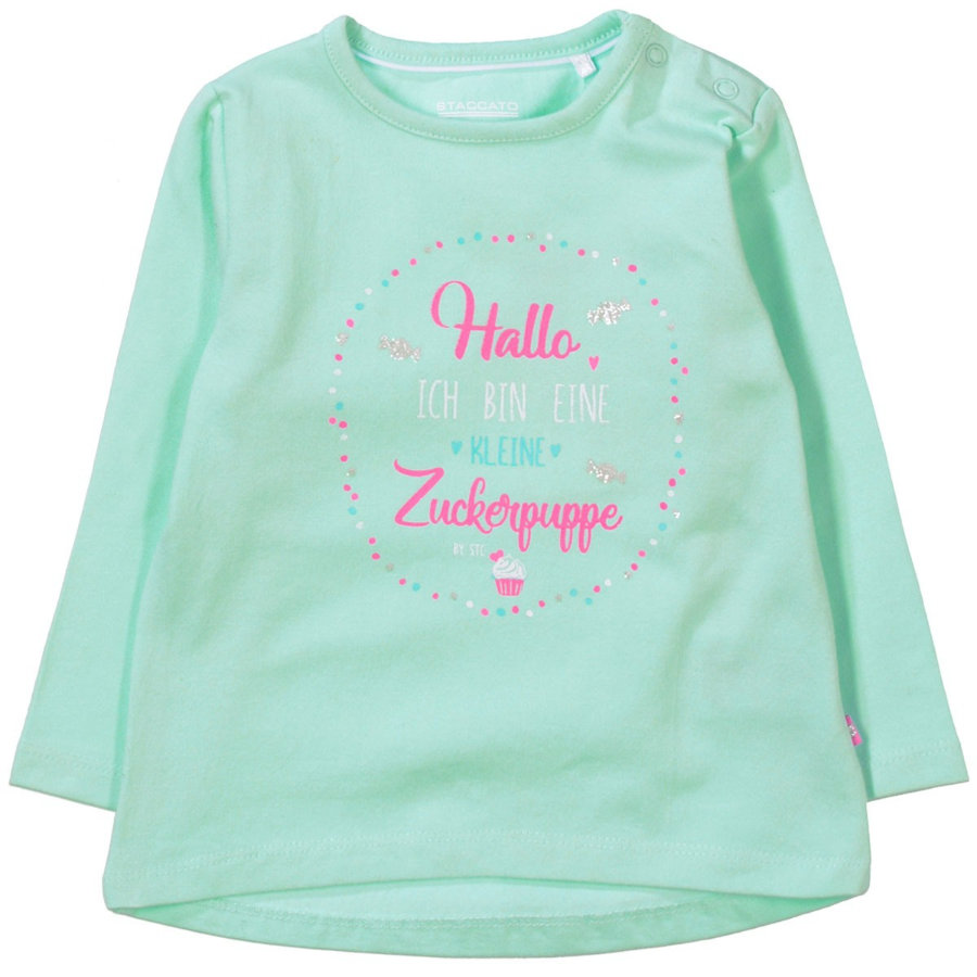 STACCATO Girls Langarmshirt light mint